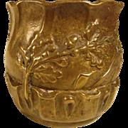 19th Century Small French Bronze Vase