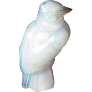 Amazing French Art Deco Bird Figurine Made of Sabino Art Glass ca. 1925/30
