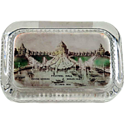Patriotically Paperweight Louisiana Purchase Exposition Word's Fair 1904 St. Louis
