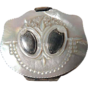 19th Century French Mother of Pearl Purse