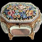 19th Century Micro Mosaic Casket