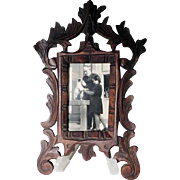 Lovely Hand Carved Wall Frame Black Forest