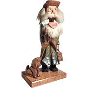 Funny  German Folk Art Nutcracker Night-Watchman