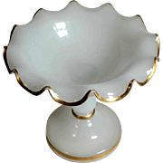 Opaline Tazza Center Piece Mouth Blown