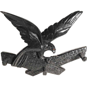 Hand Carved Rack Eagle ca. 1930
