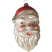 Large German  Santa Claus Christmas Ornament