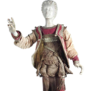 19C Neapolitan Crèche Figure – Biblical Magi