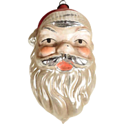 Santa Head German  Christmas Ornament