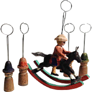 Cowboy and Indians – Wooden Christmas Ornaments