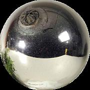 Large German  Kugel Christmas Mercury Glass Ornament