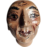 Mechanical Marionette Head  Hand Carving