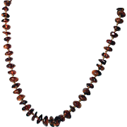 Art Deco Period Genuine Baltic Amber Necklace