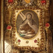 19th Century Nun Work Monastery Work Saint Teresa of Avila