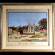 Fantastic Silk Embroidery  Pilgrimage Basilica Convent Work