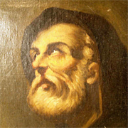 Religious Painting 19th Century after Luca Giordano