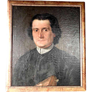 Portrait of a Priest 19th Century