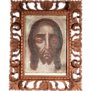 18th Century Holy Face Sudarium Veil of Veronika
