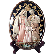 19th Century Reliquary Holy Family German Devotional Object
