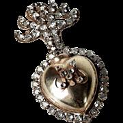 Bejeweled Reliquary Ex Voto Sacred Heart ca. 1880/1900