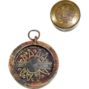 Antique Relic in Original Brass Box Agnus Dei
