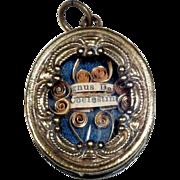 French Reliquary Relic  Agnus Dei Coelestini
