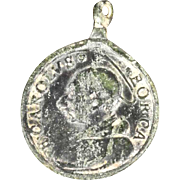 Devotional Bronze Medal St Charles Borromeo Patron of Monterey