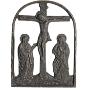 Bronze Icon Calvary