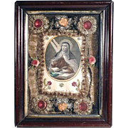 19th Century Nun Work Monastery Work Sainte Theresa of Avila