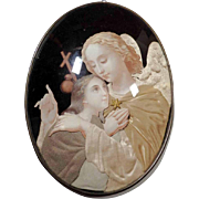 Touching Reliquary Guardian Angel ca. 1900