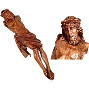 Fragment Jesus Body Hand Carving Germany