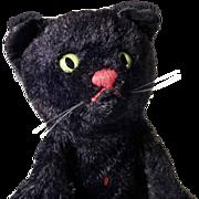 Cute Hand Puppet Black Tomcat