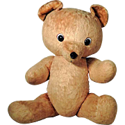 Large German Hard Stuffed Boldfaced Teddy