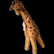 Lovely Old Stuffed Toy Giraffe