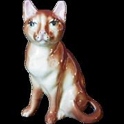 Vintage California Pottery Cat Figurine