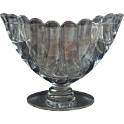 Rare Duncan and Miller Crystal Combined Vase and Candleholders