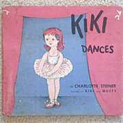 "Vintage Hardbound Children's Book - ""Kiki Dances"""