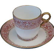 Vintage Haviland Limoges Demitasse Cup & Saucer Set