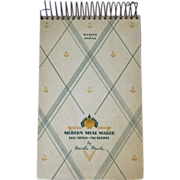 """Vintage Cookbook - """"Modern Meal Maker"""" by Martha Meade"""