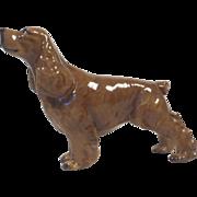 Vintage Signed Mortens Studio Cocker Spaniel Show Dog