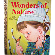 "Vintage Little Golden Book - ""Wonders of Nature"""