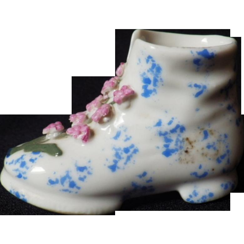 Vintage Hand Painted Elfinware Boot