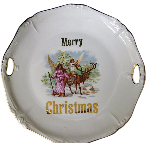 Vintage Porcelain Christmas Tree