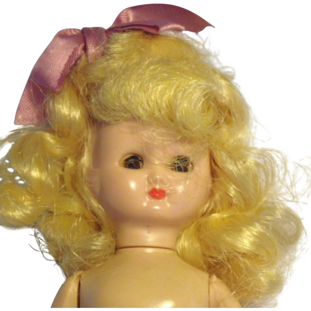 Vintage Signed Hollywood Doll