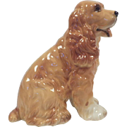 Vintage Josef Original Honey Buff Cocker Spaniel Figurine