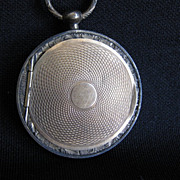 RESERVED for Casey - Rare Antique Pendant Locket Case with Daguerreotype Image