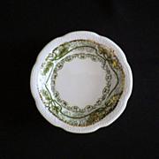 "Vintage Wood & Son England ""Marseilles"" Pattern Butter Pat"