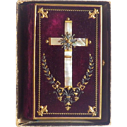 Antique German Prayer Book with Original Box