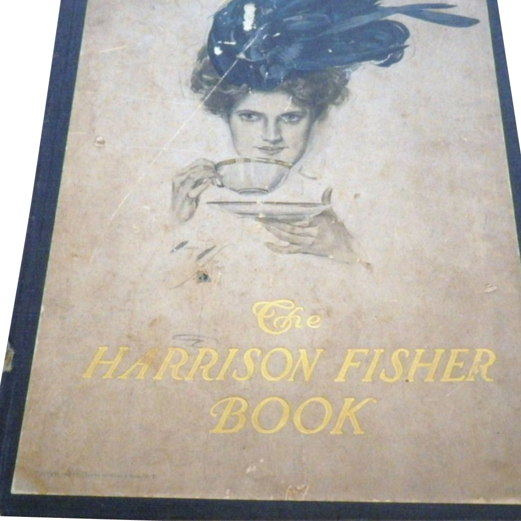 "Vintage Book - ""The Harrison Fisher Book"""
