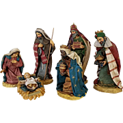 Vintage Clothtique Nativity Set