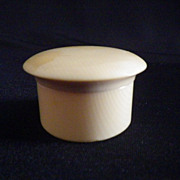 Vintage Py-Ra-Lin French Ivory Pot